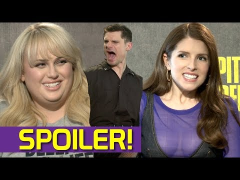 Anna Kendrick and Rebel Wilson Reveal Pitch Perfect 3 Secret to Flula