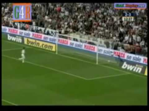 Barcelona Vs Real Madrid 6-2 - 2009 (without music!)