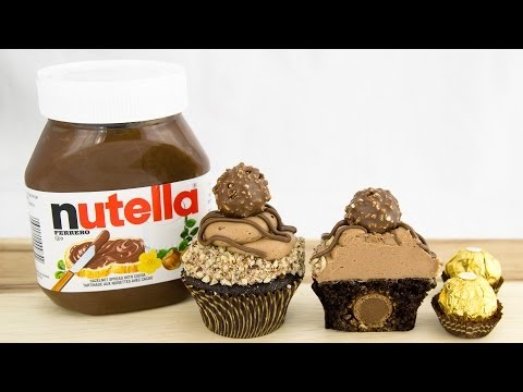 Ferrero Rocher &amp  Nutella Cupcakes From Cookies Cupcakes And Cardio