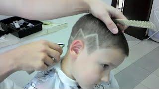 Small haircut for boys