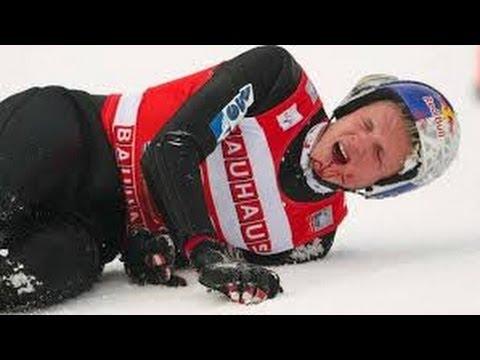 Extremer Sturz/Crash beim Skispringen | Thomas Morgenstern  2014