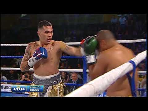 ALAN CASTAÑO VS GILBERTO DOS SANTOS - TBR BOXEO 06/10/2017