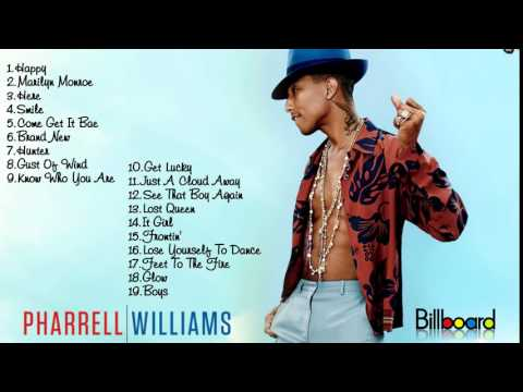 22 Pharrell Williams 's Greatest Hits Full Album HD  Best Songs Of Pharrell Williams