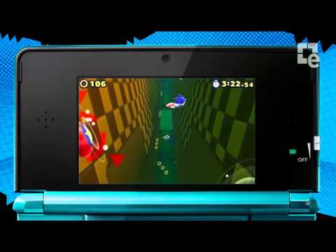 Sonic Lost World 3DS E3 2013 Trailer