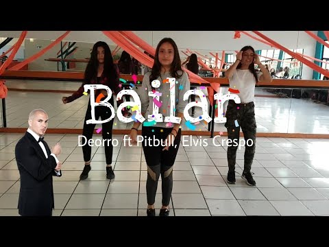Bailar - Deorro Ft. Pitbull, Elvis Crespo | Coreografía Erick Haro