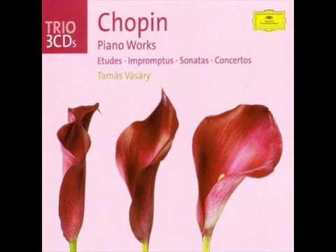 Chopin : Fantaisie-impromptu in C sharp minor - Tamás Vásáry (1965)