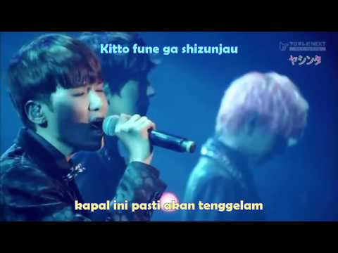 Suju K.R.Y Hanamizuki Live Version [Romaji+Indo Sub]