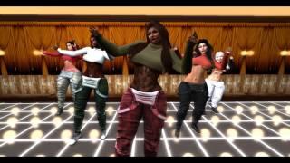 Second Life Tribute To Tinashe Company Starring Niurka Barbosa