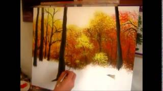 Painting Autumns beauty speed