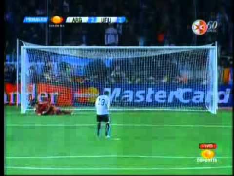COPA AMERICA 2011: ARGENTINA 4 - 5 URUGUAY (PENALES) TELEVISA DEPORTES  .mp4