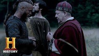 Vikings: Ragnar Speaks with King Ecbert's Men   History