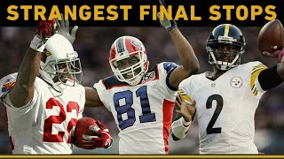 Iconic Players' Strangest Final Career Stops | NFL Throwback
