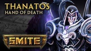 SMITE - God Reveal - Thanatos, Hand of Death