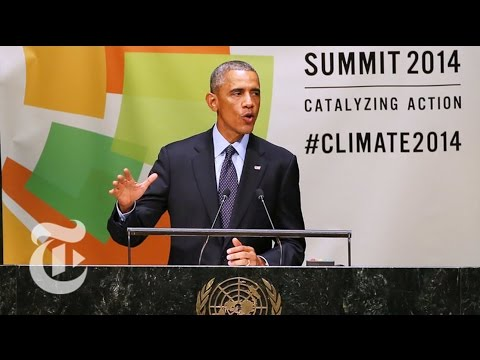 General Assembly 2014: Obama on Climate Change | The New York Times