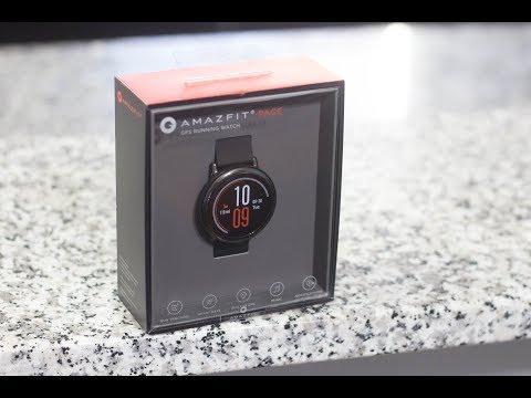 Xiaomi Amazfit Pace Smartwatch Review
