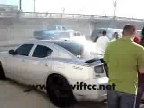 Swift Car Club Charger Burnout Video