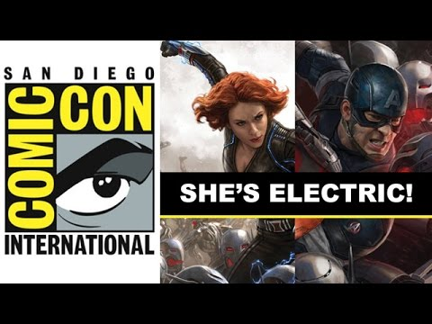 Comic Con 2014 - Black Widow suit's electricity revealed in Marvel Posters : Beyond The Trailer