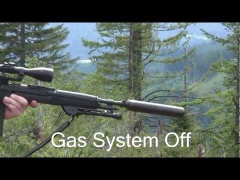 Military Grade Gun Suppressors Silencers Homemade .50 cal .223 .308.