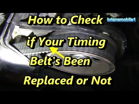 How to Tell if Your Timing Belt's Been Replaced