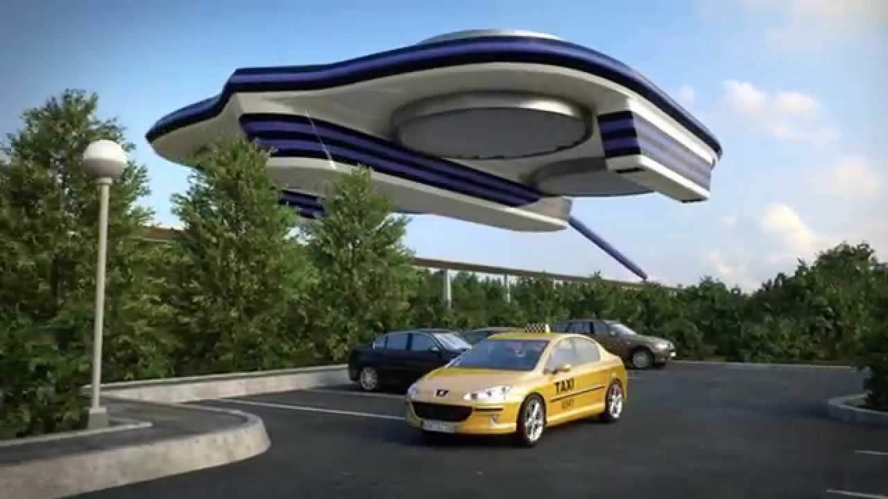 Pensábamos en el futuro que habrían naves espaciales como vehículos para el transporte...Pues bien, quizás no sean precísamente eso lo que nos traerá el futuro...