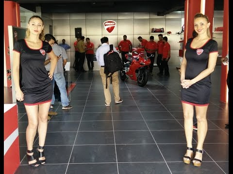 Ducati India first showroom opening, motorcycles, specs and price