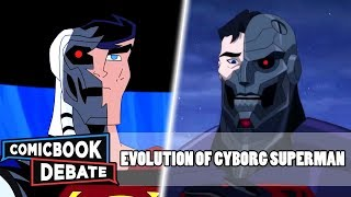 Evolution of Cyborg Superman in All Media in 6 Minutes (2018)