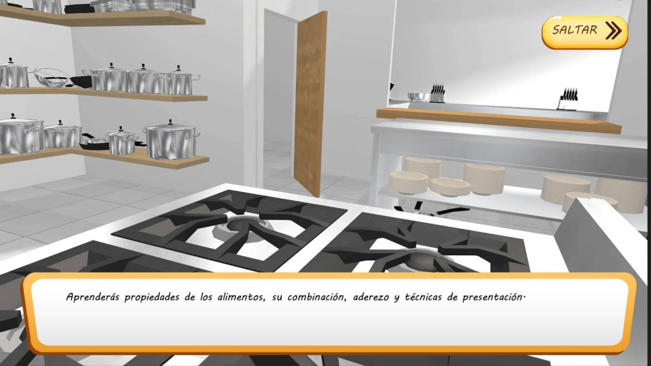 Conoce el simulador del curso de fp de cocina y for Simulador de cocina