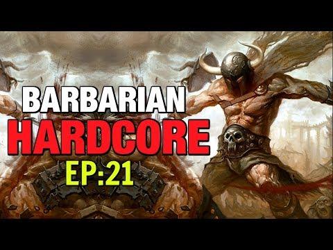 Hardcore Barbarian Lets Play EP:21 Diablo 3 Season 16 Patch 264 Build