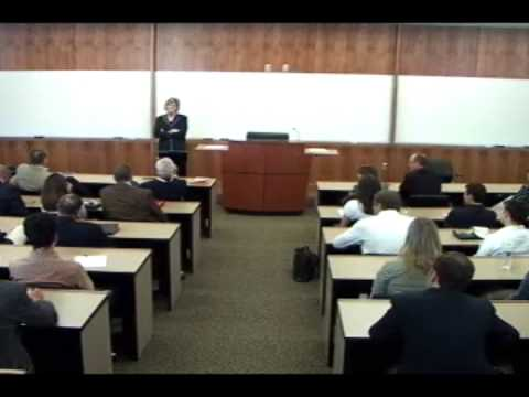Tennessee Lady Vols Coach Pat Summitt talks about the UT MBA Program - Part 5 Video