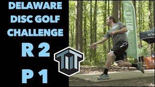 2018 Delaware Disc Golf Challenge R2F9 | Barsby, Conrad, Johansen, Heimburg | 4k