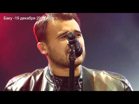 Концерт Эмина на Площади Фонтанов - 19.12.2015 (Баку)