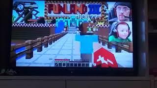 Watching FGteeV in YouTube TV...