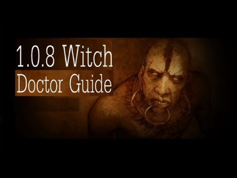 1.0.8 Witch Doctor Cloud of Bats Guide Diablo 3