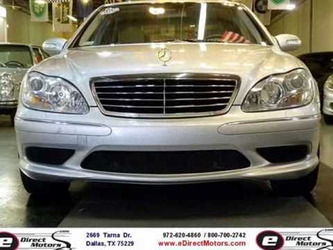 2006 mercedes benz s430 amg sport edirect motors youtube for 2006 mercedes benz s430 4matic