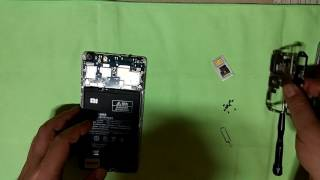 Xiaomi Max(Mi Max) disassembly for Volume Key Set Replacement - Korean
