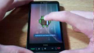 HTC HD2 Dual Boot - Android 4.0 (Ice Cream Sandwich) and Windows Phone 7.5 (Mango)
