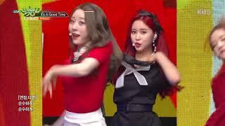 뮤직뱅크 Music Bank It 39 S A Good Time 우주소녀 20181130
