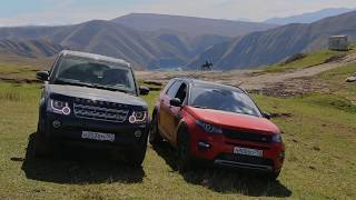 Land Rover Expeditions. Чеченская республика.