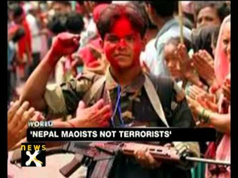 U.S. strikes Nepal Maoists from terror blacklist - NewsX