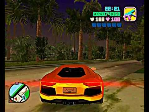 2012 gta vice city lamborghini aventador mod how to save money and do it y. Black Bedroom Furniture Sets. Home Design Ideas