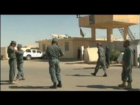 Afghan police training reaping rewards 16.10.12