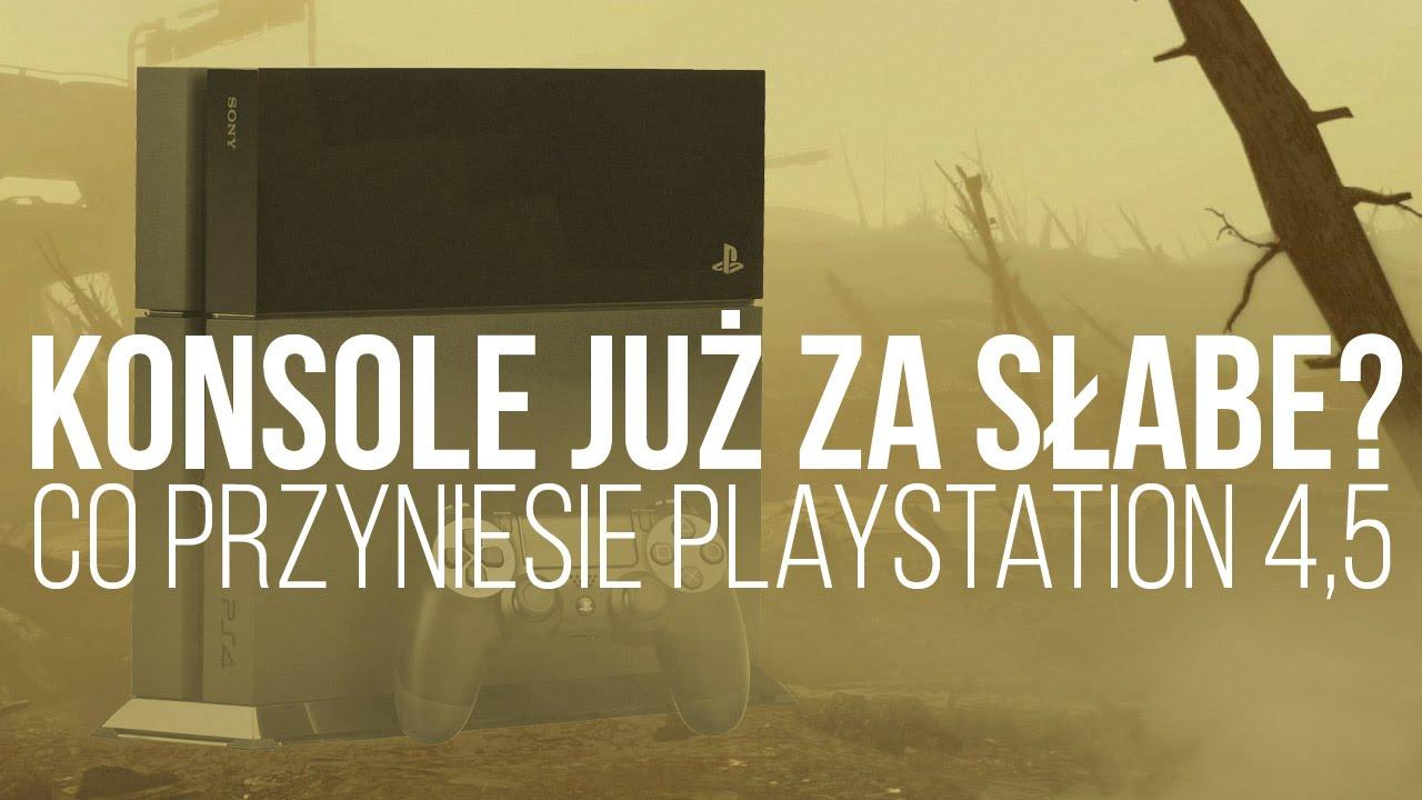 Konsole już za słabe? Co przyniesie PS 4.5 i Nintendo NX [tvgry.pl]
