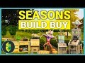 The Sims 4 Seasons - Build / Buy OVERVIEW