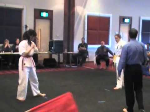 Women's Full-Contact Kyokushin Karate Competition - with Action Replay Image 1
