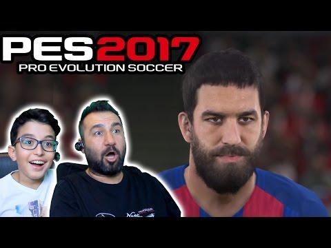 PES 2017 PS4 DEMO 2 KİŞİ OYNUYORUZ | EFSANE ÇALIMLAR!