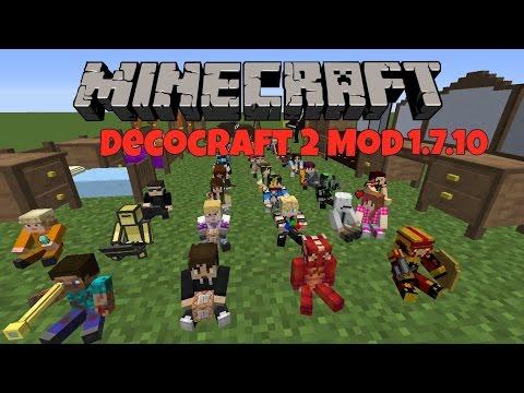 Minecraft: Decocraft 2 Mod 1.7.10