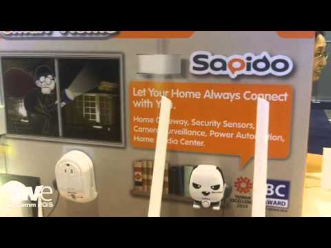 InfoComm 2015: Taiwan Excellence Exhibits Sapido Total Smart Home Solution