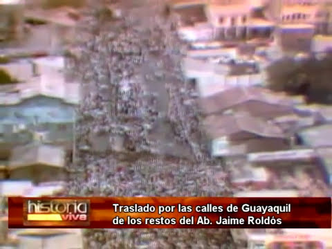 REPORTEJE ESPECIAL SOBRE LA MUERTE DE JAIME ROLDÓS