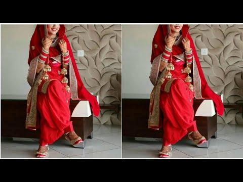Beautiful Punjabi Suits Designs For Brides ||  Latest Punjabi Bridal Dresses Designs 2019-19
