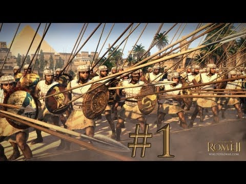 Total War: Rome II - Egypt Campaign - Episode 1